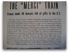 Merci Train LIFE Article 02/28/49 - Article Text